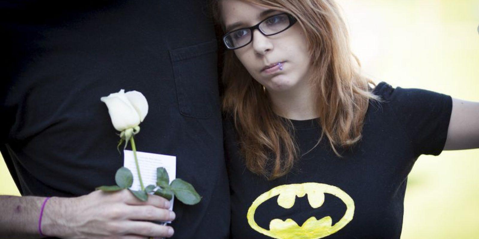 """El hombre atentó contra toda esta gente mientras veían la película """"The Dark Knight"""". Foto:Getty Images"""