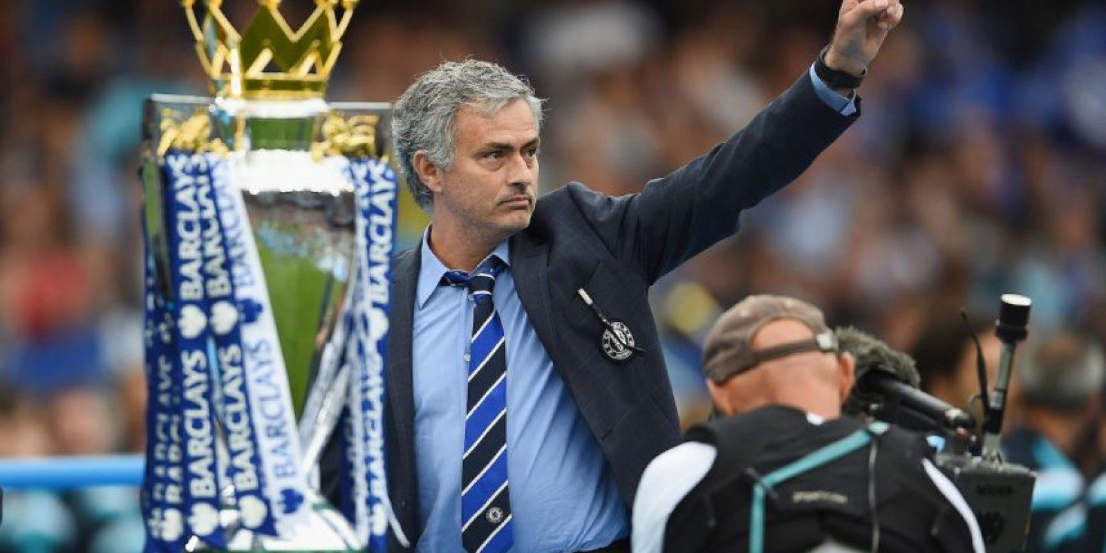 Entonces llegó a Chelsea donde vivió una época dorada al mando del equipo. Foto:Getty Images
