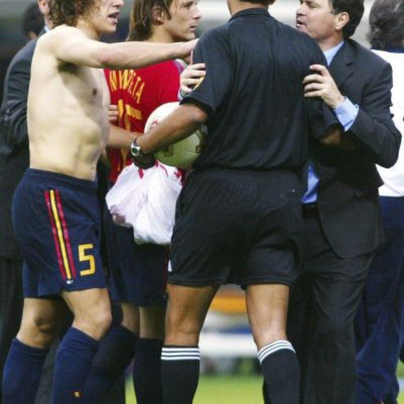 Cuartos de final del Mundial Corea-Japón 2002. Foto:Getty Images