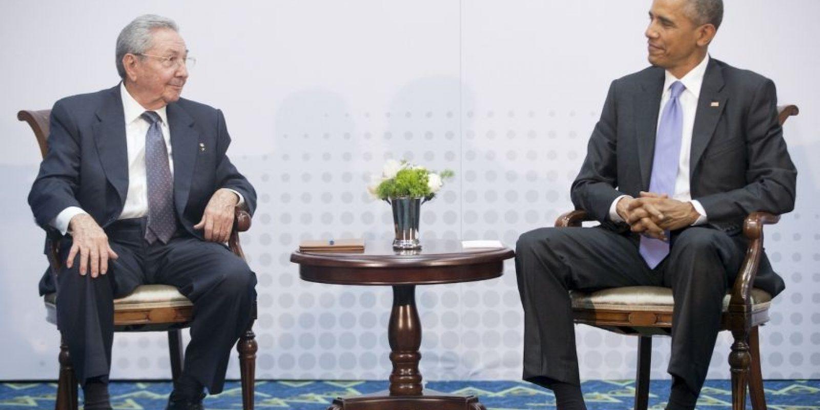 El 20 de julio se llevó a cabo la apertura de la Embajada de Cuba en Estados Unidos, hecho que oficializó el restablecimiento de las relaciones diplomáticas entre ambos países. Foto:AP