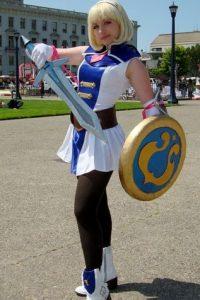 Ella no es de los personajes iniciales, sin embargo, su figura y personalidad la hicieron destacar Foto:Wikia