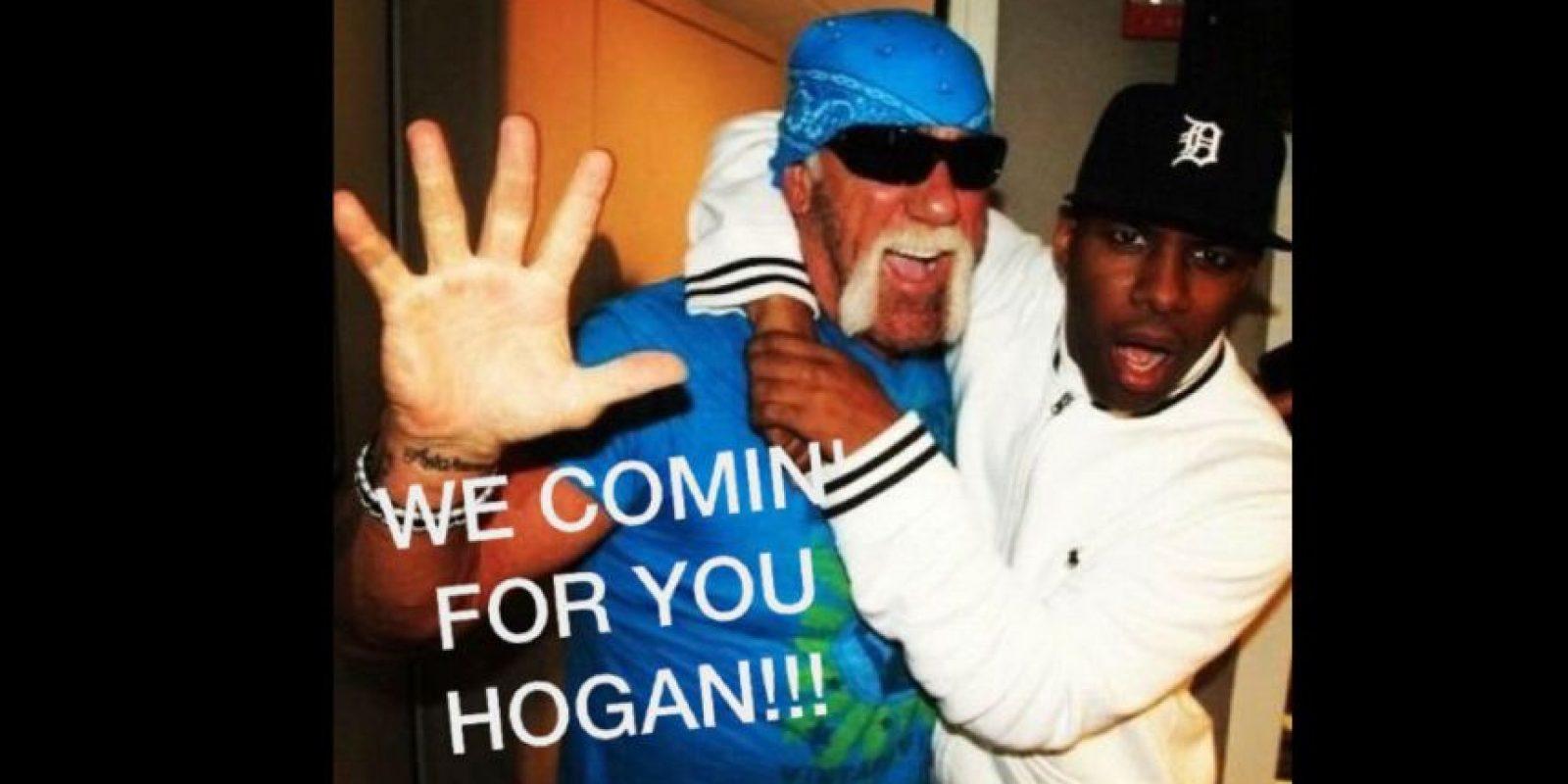 Vamos por ti Hogan Foto:Vía facebook.com/WWEMEMES