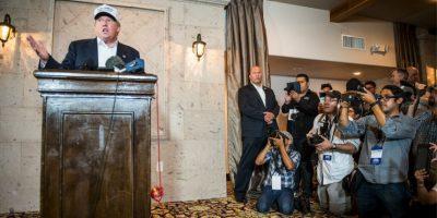 5. Y silenció a un reportero latino Foto: Getty Images