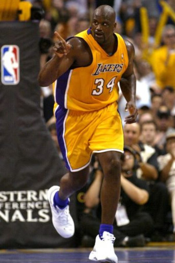 8. Shaquille O'Neal (Baloncesto) Foto: Getty Images