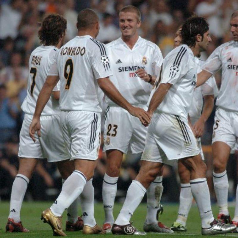 """7. Los """"Galácticos"""" del Real Madrid (Fútbol) Foto:Getty Images"""
