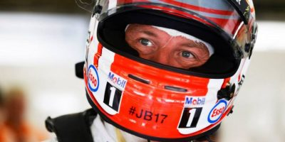 Jenson Button de McLaren. Foto:Vía facebook.com/fia