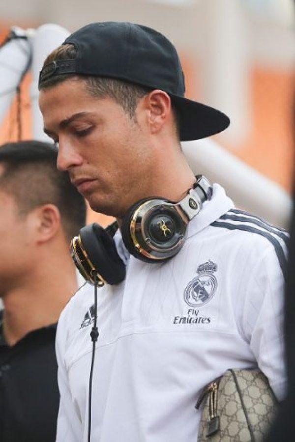 El astro portugués está de pretemporada con el Real Madrid. Foto:Getty Images