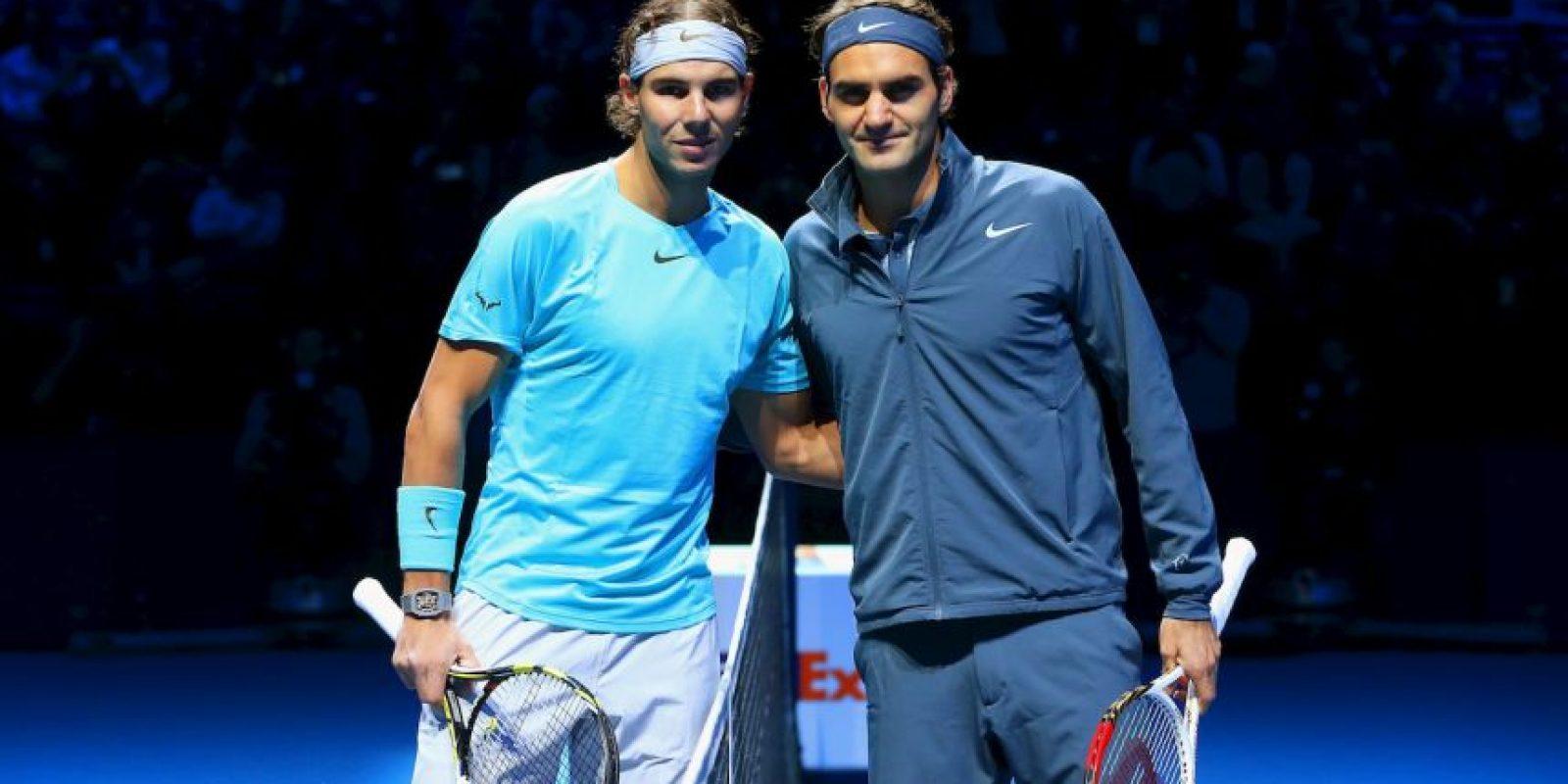 Rafael Nadal vs. Roger Federer Foto:Getty Images