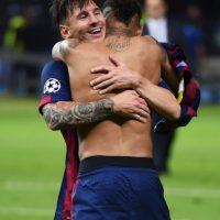 El brasileño juega en el Barcelona y comparte créditos con Lionel Messi. Foto:Getty Images
