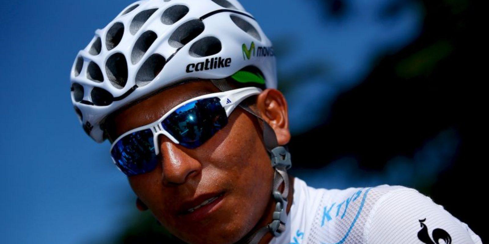 """Nairo Quintana Rojas es un ciclista colombiano que es parte del equipo español """"Movistar"""". Foto:Getty Images"""