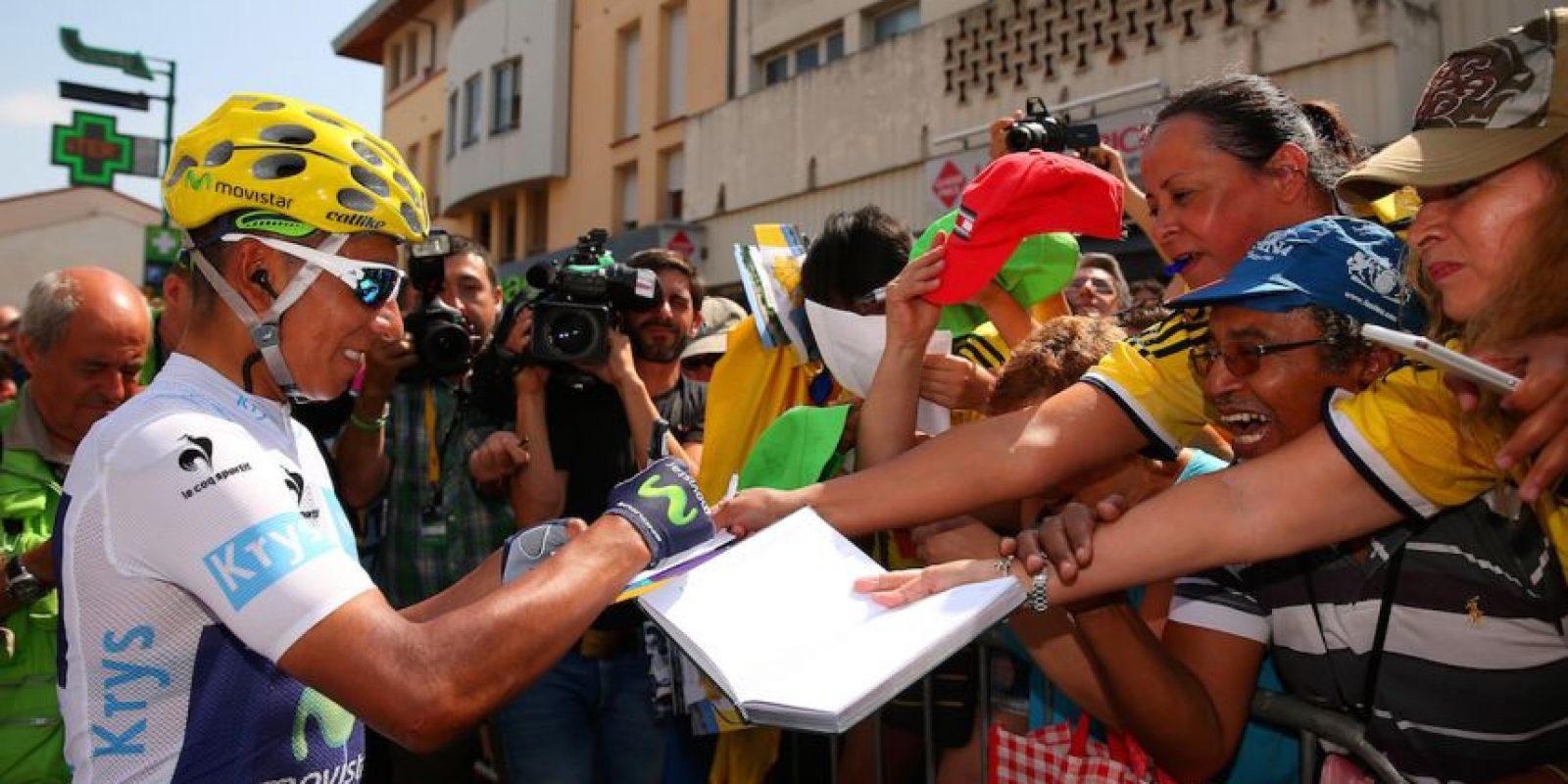 No compitió en el Tour de Francia de 2014 porque su equipo prefirió enviar a Alejandro Valverde en su lugar. Foto:Getty Images