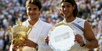 En el tenis Foto:Getty Images