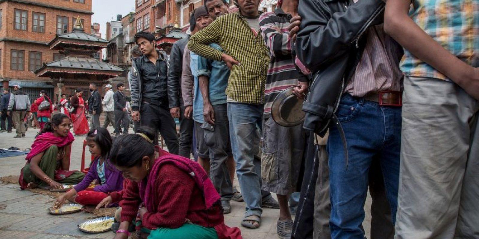India, China y Banglaseh sintieron el terremoto de magnitud 7.8, aunque en menor grado que los nepaleses. Foto:Getty Images