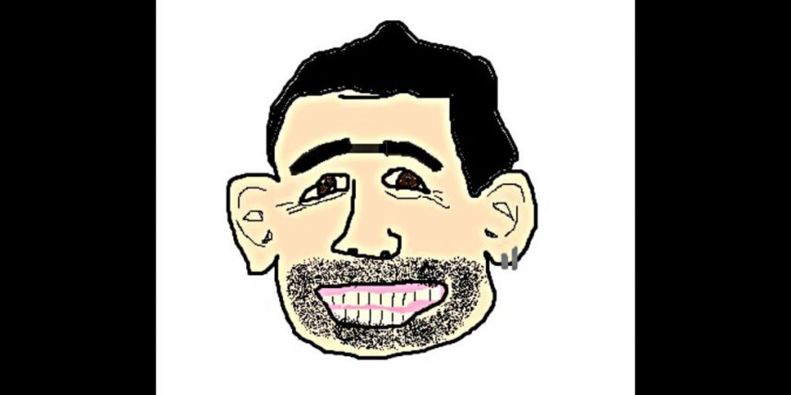 Esa sonrisa y esa barba… Foto:reddit.com