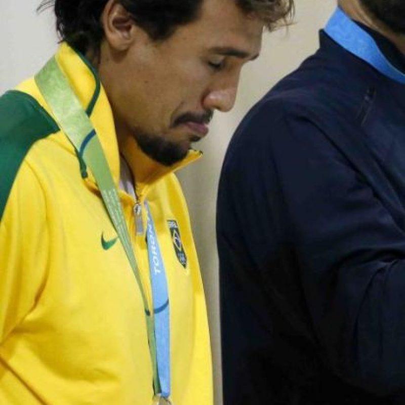 El escándalo se lo llevó el brasileño Thye Mattos Ventura Foto:Getty Images