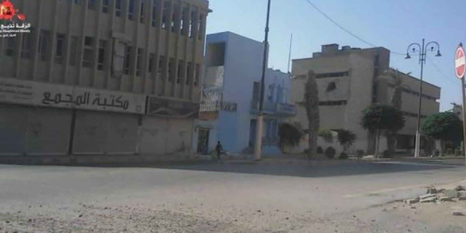 Así lucen las calles de las principales ciudades de Irak y Siriaº Foto:Twitter.com/raqqa_mcr