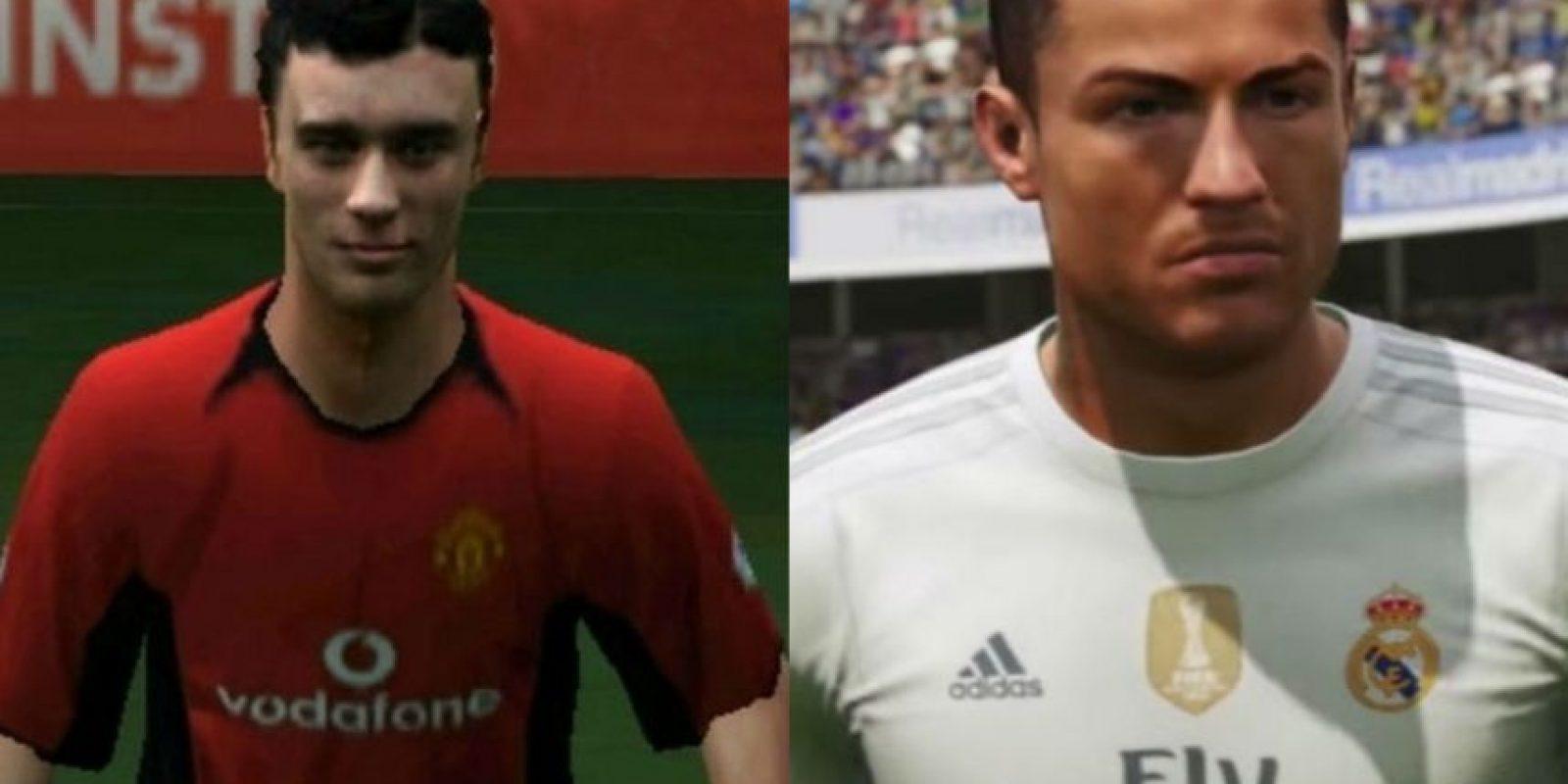 Todos los cambios de Cristiano Ronaldo en el FIFA. Foto:Tumblr