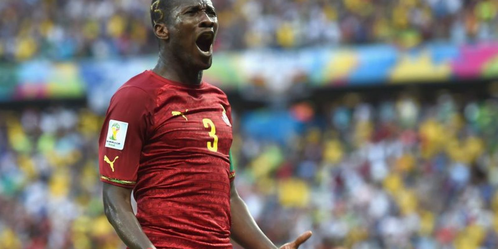 9. Asamoah Gyan Foto: Getty Images
