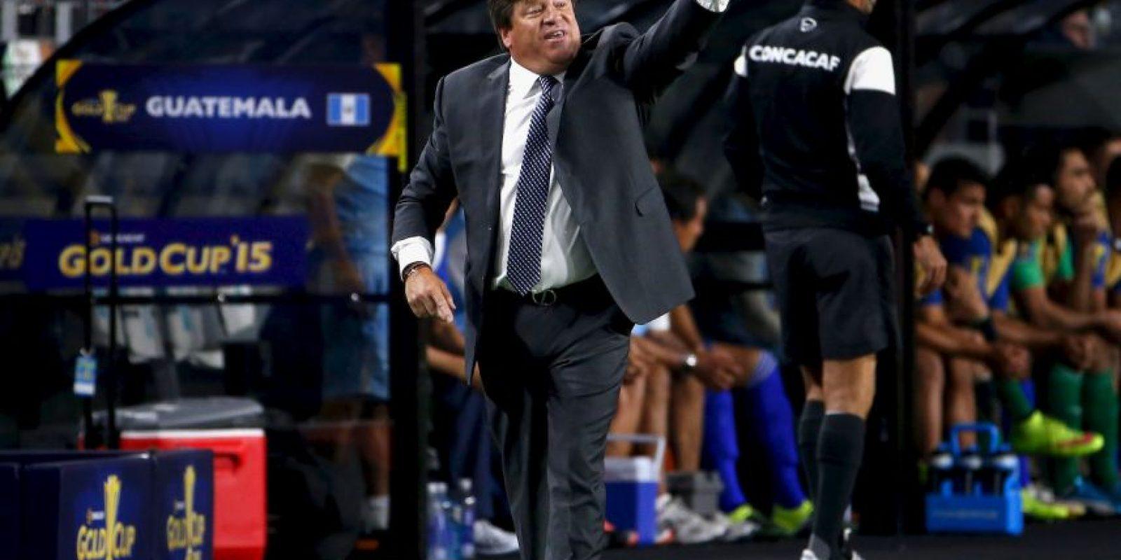 """Pero el """"Piojo"""" no olvidó las criticas del comentarista de TV Azteca por la eliminación en la Copa América Foto:Getty Images"""