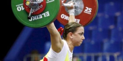 La pesista que había ganado plata en los pasados Juegos Panamericanas fue retirada por dar positivo a la sustancia sibutramina Foto:Getty Images