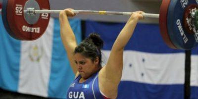 La pesista guatemalteca fue retirada por su delegación antes de que compitiera en los Panamericanos Foto:Getty Images