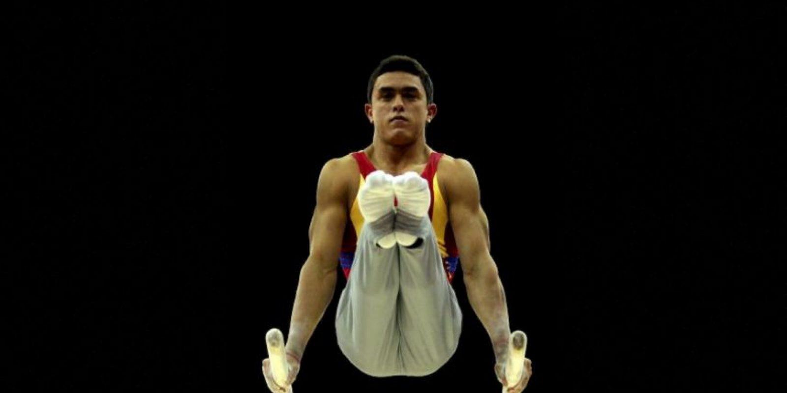El colombiano se hizo con cinco medallas en gimnasia artística Foto:Getty Images