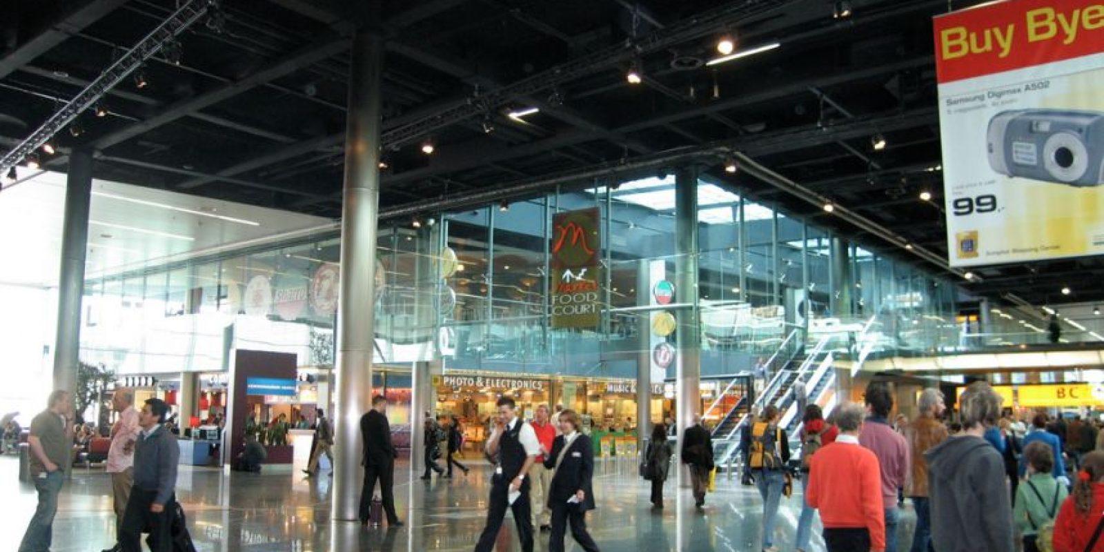 Su destino era el aeropuerto Schiphol. Foto:Vía wikimedia.org