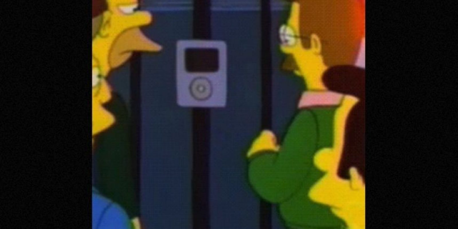 En 1996, el Intercom de la casa del Sr. Burns parecía un iPod. Foto: vía FOX