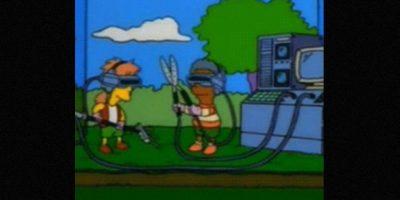 En 1998, los chicos jugaban con un simulador de jardín Foto:Via FOX