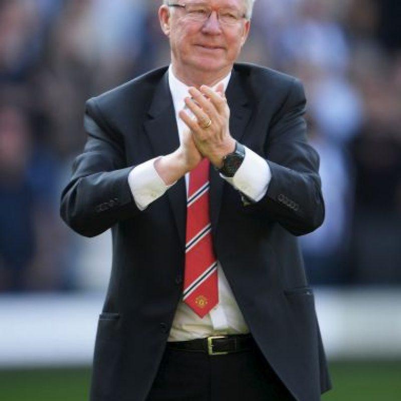El retirado entrenador del Manchester United desembolsó 465 millones de euros para fichar, entre otros futbolistas más, a figuras como Cristiano Ronaldo. Foto:Getty Images
