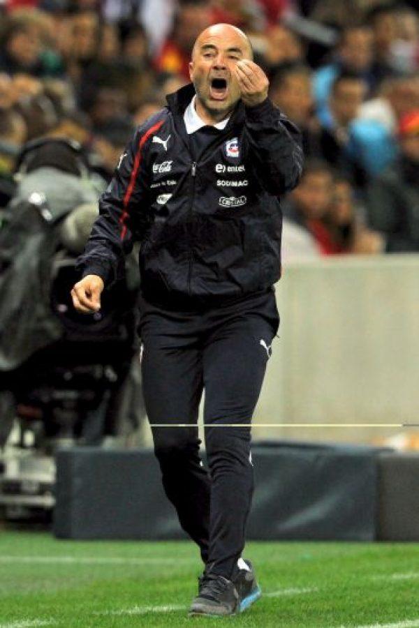 Con la Universidad de Chile obtuvo tres títulos de forma consecutiva. También obtuvo la Copa Sudamericana 2011 sin perder un solo encuentro. Foto:Getty Images