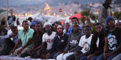 De acuerdo a la ONU, hasta junio de 2015 se perdieron dos mil 220 vidas de migrantes en el Mar Mediterráneo Foto:Getty Images