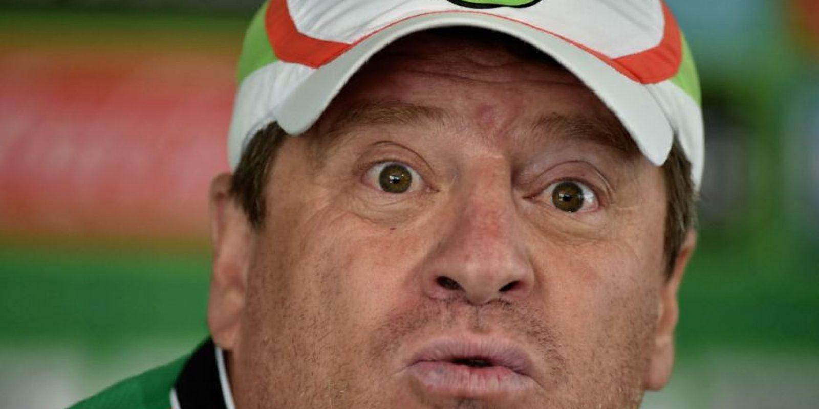Miguel Herrera fue despedido como entrenador de México. Foto:AFP