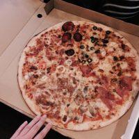 Y reveló que el motivo de su fuerza es… Foto:Vía instagram.com/explore/tags/pizza