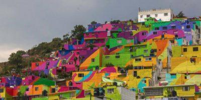 El proyecto duró cinco meses. Foto:Vía facebook.com/muralismogermen