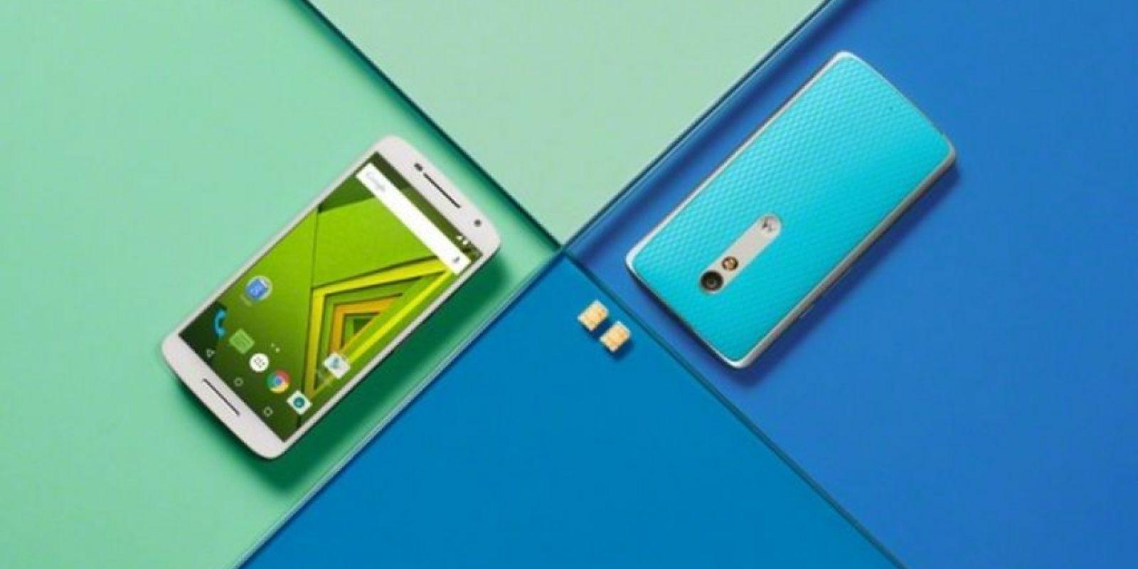 Sistema operativo: Android 5.1.1 Lollipop. No es sumergible en agua Foto:Motorola