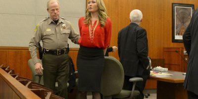 Fue acusada de 11 delitos, de los que se declaró culpable Foto:AP