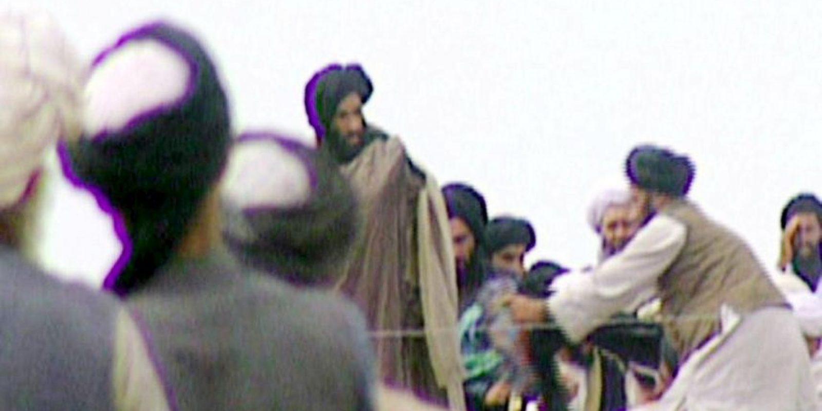 El líder religioso mulá Omar, no se había visto en público desde el 2001 Foto:AFP