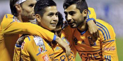 Tigres venció en semifinales a Internacional de Porto Alegre. Foto:facebook.com/pages/Copa-Bridgestone-Libertadores-2015