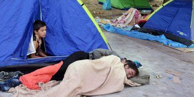 Los cuales duermen en las calles Foto:Getty Images