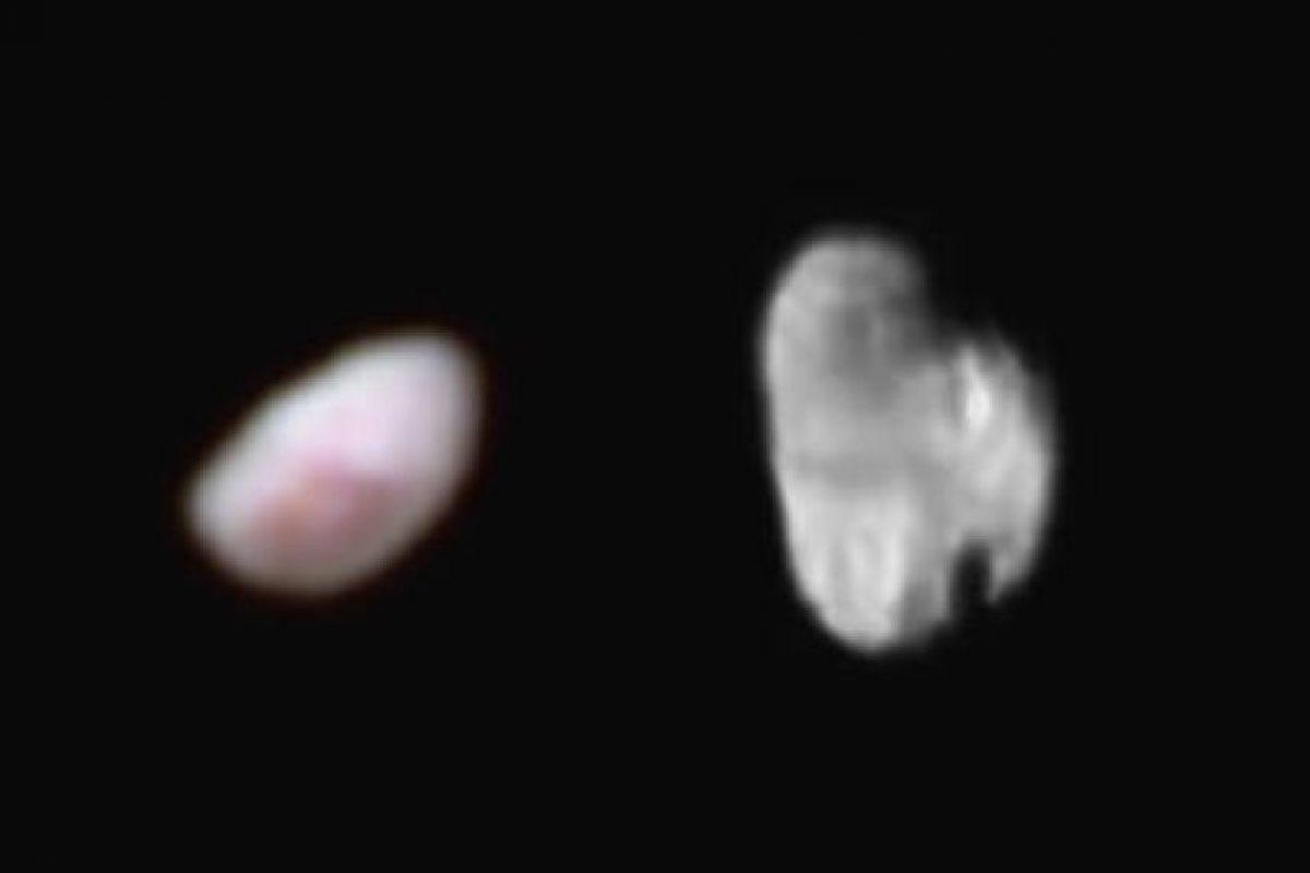 Las dos lunas más pequeñas de Plutón: Nix e Hydra Foto:NASA.gov