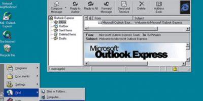 En 1995 Windows mutó nuevamente de nombre para ver nacer el icónico Windows 95. El diseño rompió los esquemas existentes y revolucionó los diseños web para sistemas operativos en PC Foto:Microsoft