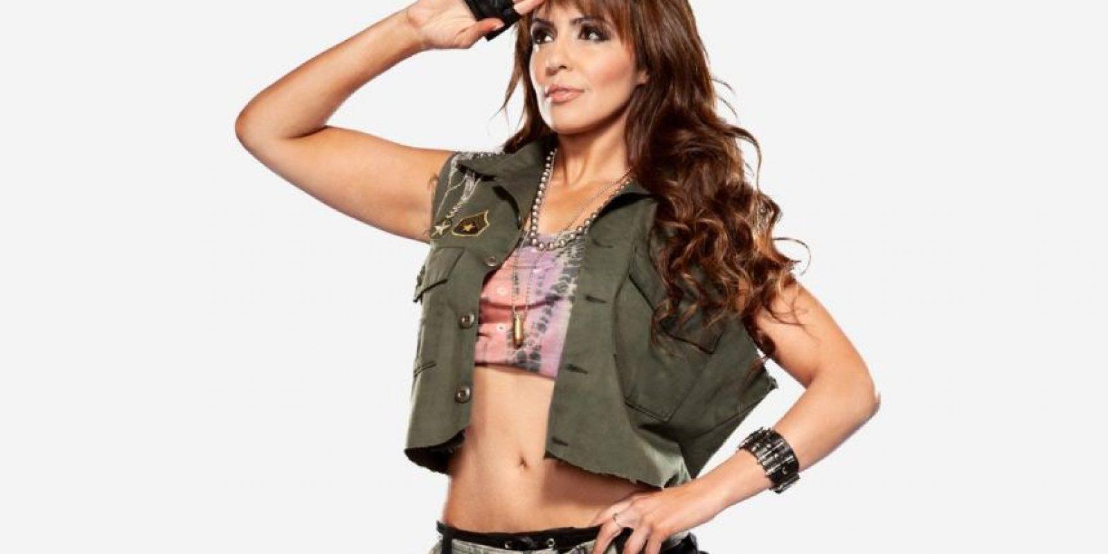 Fue campeona de las Divas de la WWE y también obtuvo el Campeonato Femenino de la WWE. Foto:wwe.com
