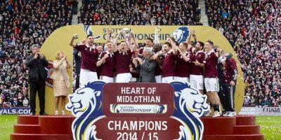 """Su nombre y su escudo están basados en el """"Heart of Midlothian"""", símbolo de un antiguo distrito escocés. Foto:Vía facebook.com/OfficialHeartofMidlothianFC"""