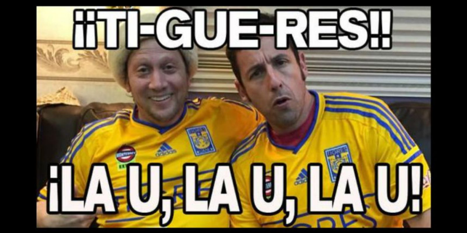 Eso sí, Tigres tiene hinchas famosos. Foto:Vía twitter.com