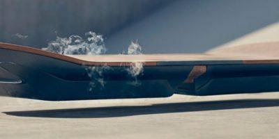Funcionaría con una combinación de nitrógeno e imanes. Foto:Lexus International