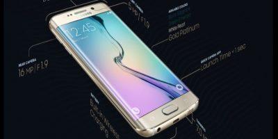 Ambos smartphones comparten el blanco, negro y dorado, aunque el azul topacio únicamente se podrá encontrar en el Samsung Galaxy S6 y el verde esmeralda estará disponible solamente en el Samsung Galaxy S6 Edge. Foto:Samsung