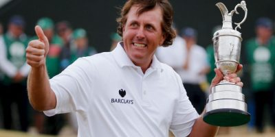 3. Phil Mickelson / Golf Foto: Getty Images