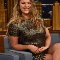"""""""Ella quiere ser una estrella de Hollywood, solo esta desperdiciando su tiempo con las MMA. Yo tengo más tiempo de octágono, he lanzado más golpes y he peleado más rounds que ella dentro del UFC"""". Foto:Getty Images"""