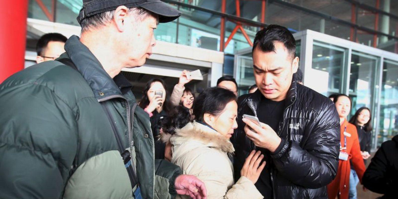"""""""Muchos eran ciudadanos de otras provincias, campesinos"""", dijo refiriéndose a los demás familiares. Foto:Getty Images"""